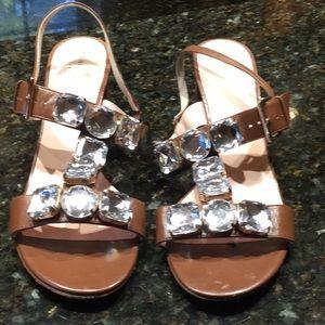 EUC Kate Spade jeweled sandals